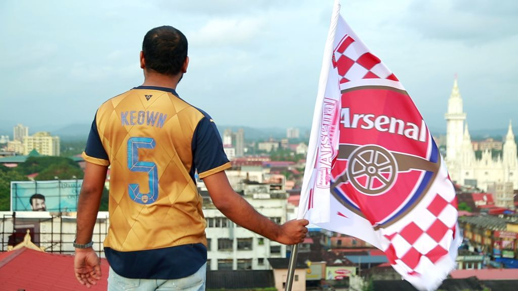 be0b55d5454 Mr. SPIN s Arsenal themed rap song – Indian Gooner gains widespread  attention on social media